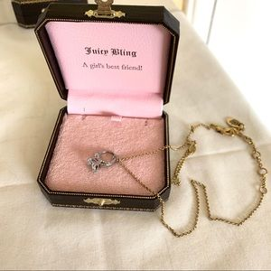 Juicy Couture ring necklace